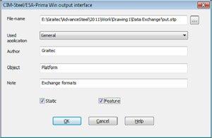 GRAITEC Autodesk Advance Steel | Exchange Formats Overview | PSS Interface