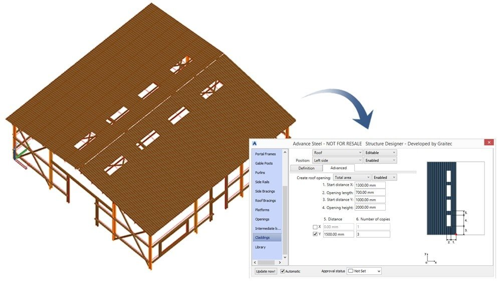Sheeting and Cladding for Steel Structures