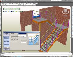 GRAITEC Autodesk Advance Steel | Stairs and Railings | Easy to customize