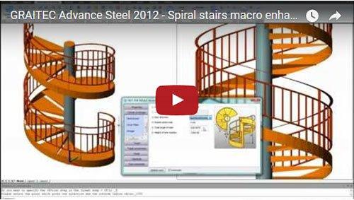 Spiral stairs macro