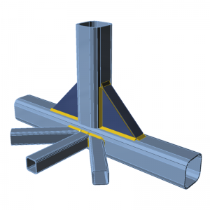 GRAITEC IDEA StatiCa | Connection | Airport Service Bridge