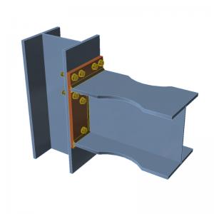 GRAITEC Advance Design | Connection | Irregular bolt group, flange notches