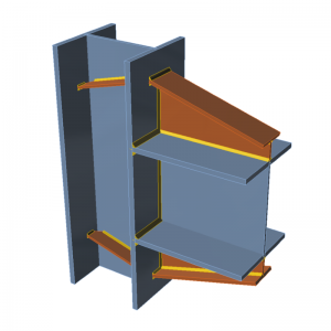 GRAITEC Advance Design | Connection | Double haunches