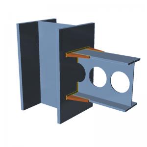 GRAITEC Advance Design | Connection | Flange haunches, openings