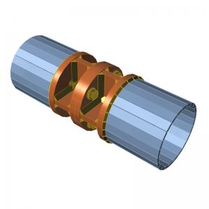 GRAITEC Advance Design | Connection | Plates, bolt grid, cuts