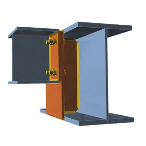 GRAITEC Advance Design | Connection | Shifted end plate
