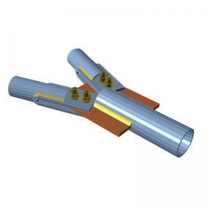 GRAITEC Advance Design | Connection | Stiffening members, bolt grids
