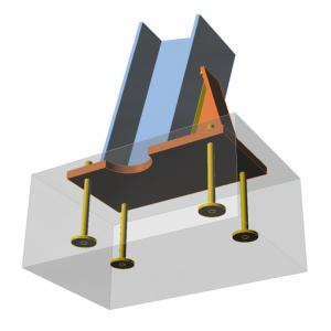 GRAITEC Advance Design | Connection | Base plate, haunch, notch, washers