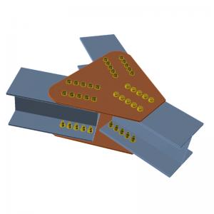 GRAITEC Advance Design | Connection | Splice plates
