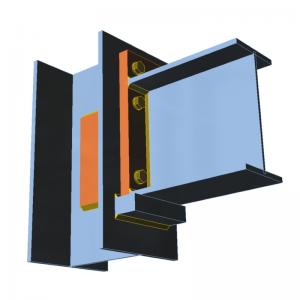 GRAITEC Advance Design | Connection | Beam support (contact), webdoubler