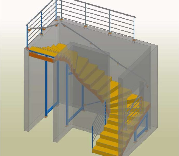 Interior Stairs – Ets J-C FASSLER