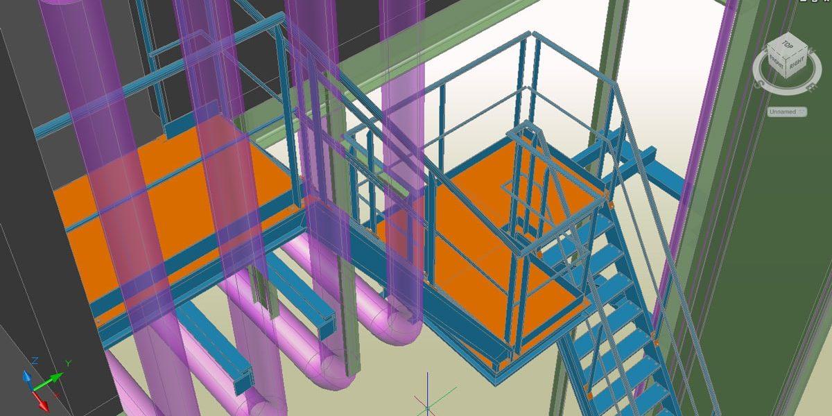 Technical Staircase – METALLERIE DU CAMBRESIS