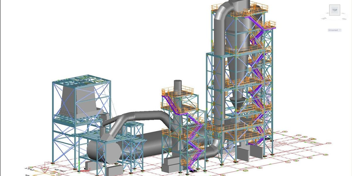 Industrial Plant – Rouleau Desaulniers