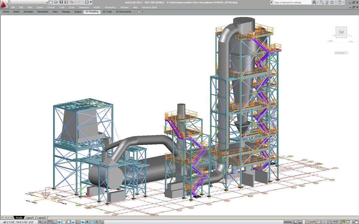 Industrial Plant - Rouleau Desaulniers - Graitec