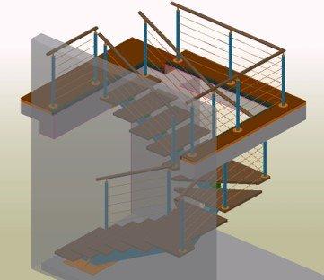 Interior Stairs – ABC Serrurerie