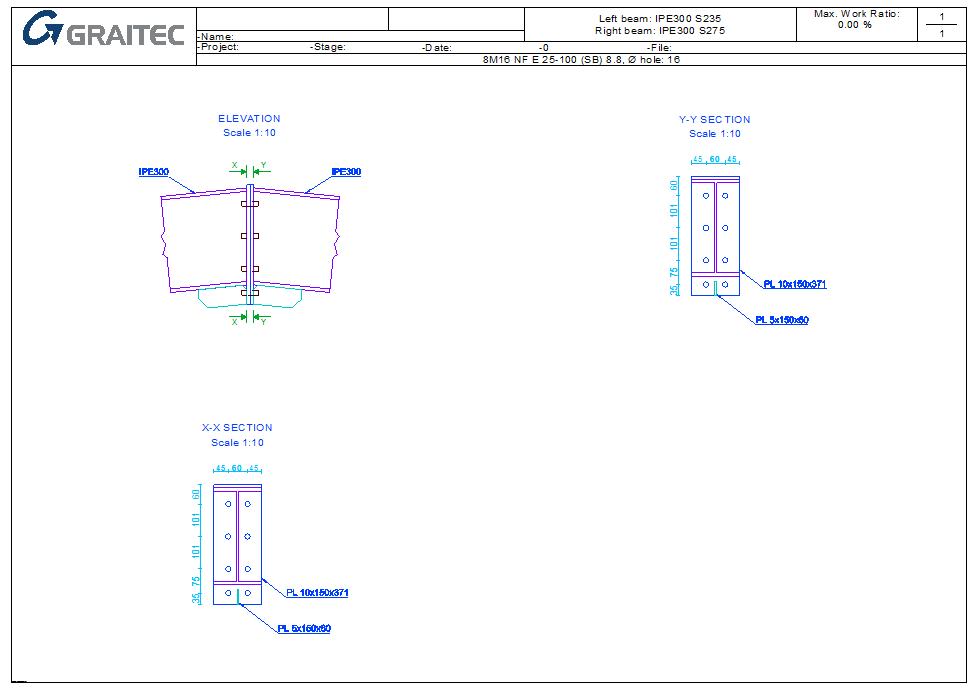 Apex Haunch Connection - Generic detail view