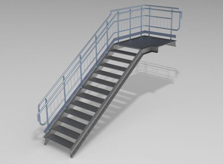 Standard railing