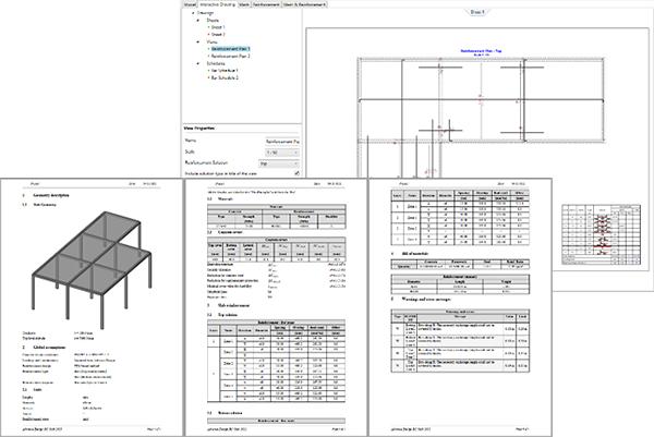 GRAITEC Advance Design 2022 - RC Slab module